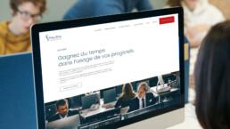 Website Mycène, identité graphique